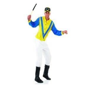 Blue and Yellow Jockey