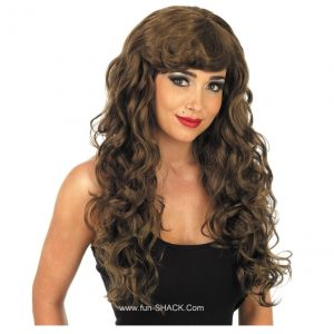 BROWN TEMPTRESS WIG