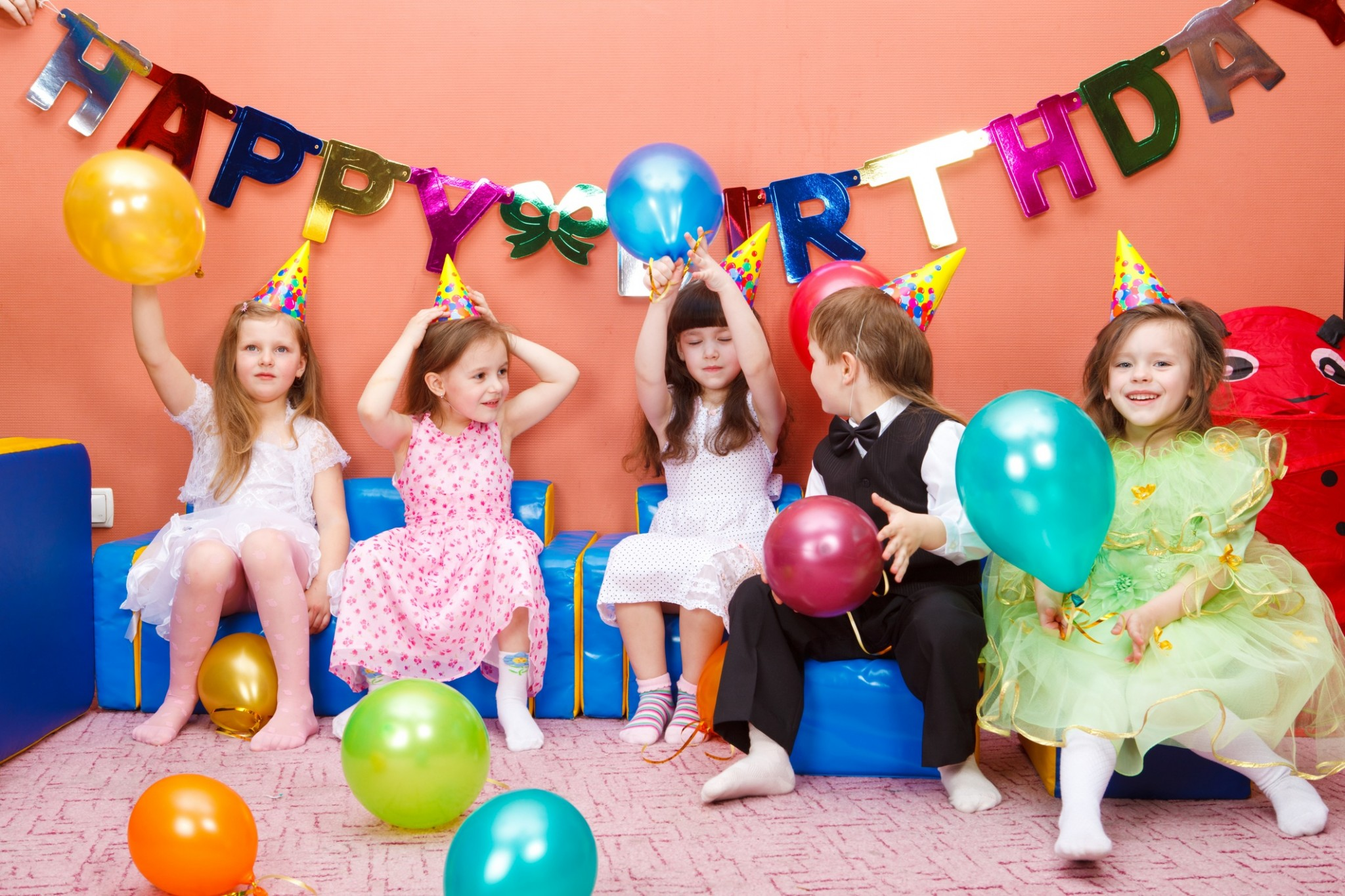 Balloons McPeakes - Childrens birthday party ideas east london