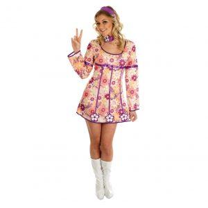 Pink Hippie Dress