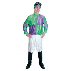 Jockey Green & Purple