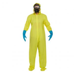 YELLOW PROTECTIVE SUIT