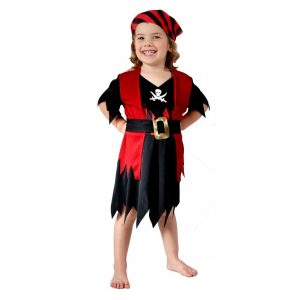 PIRATE GIRL TODDLER